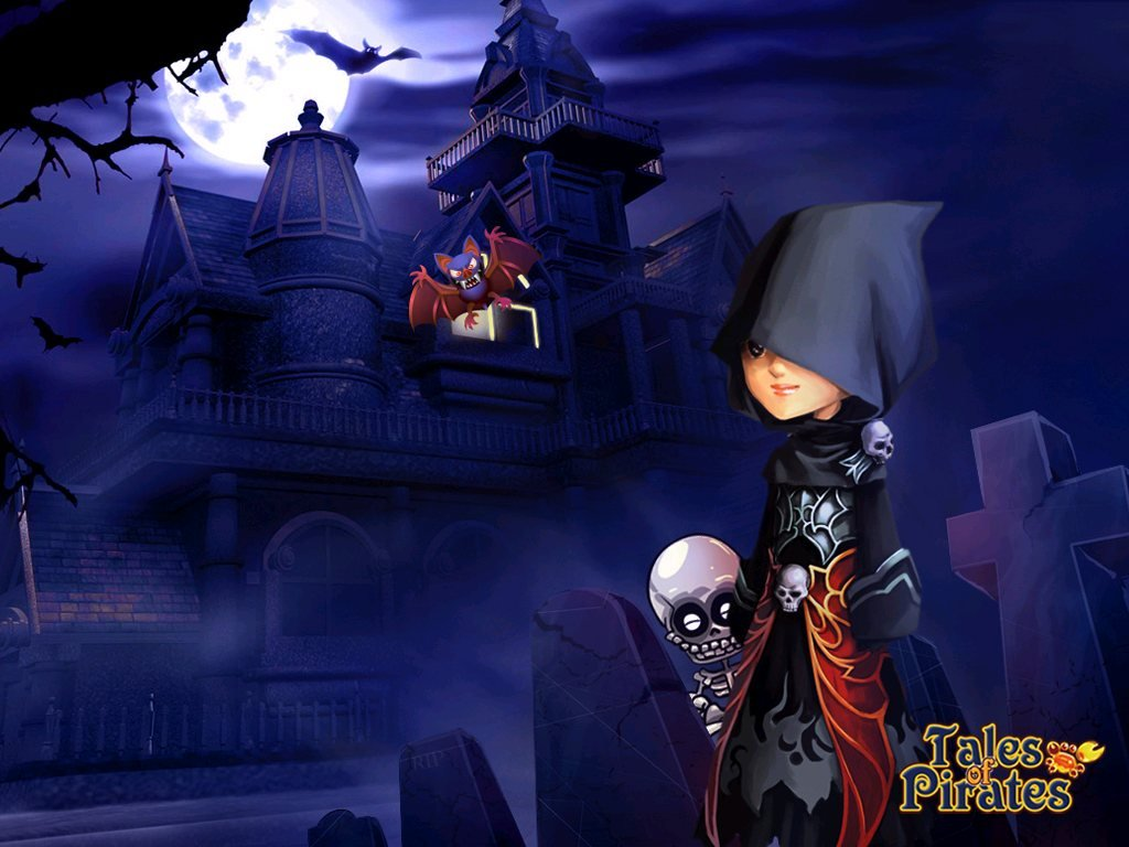 IGG Releases Tales Of Pirates Halloween Wallpapers  #10070