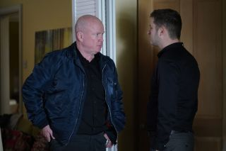 EastEnders Phil Mitchell and Ben Mitchell