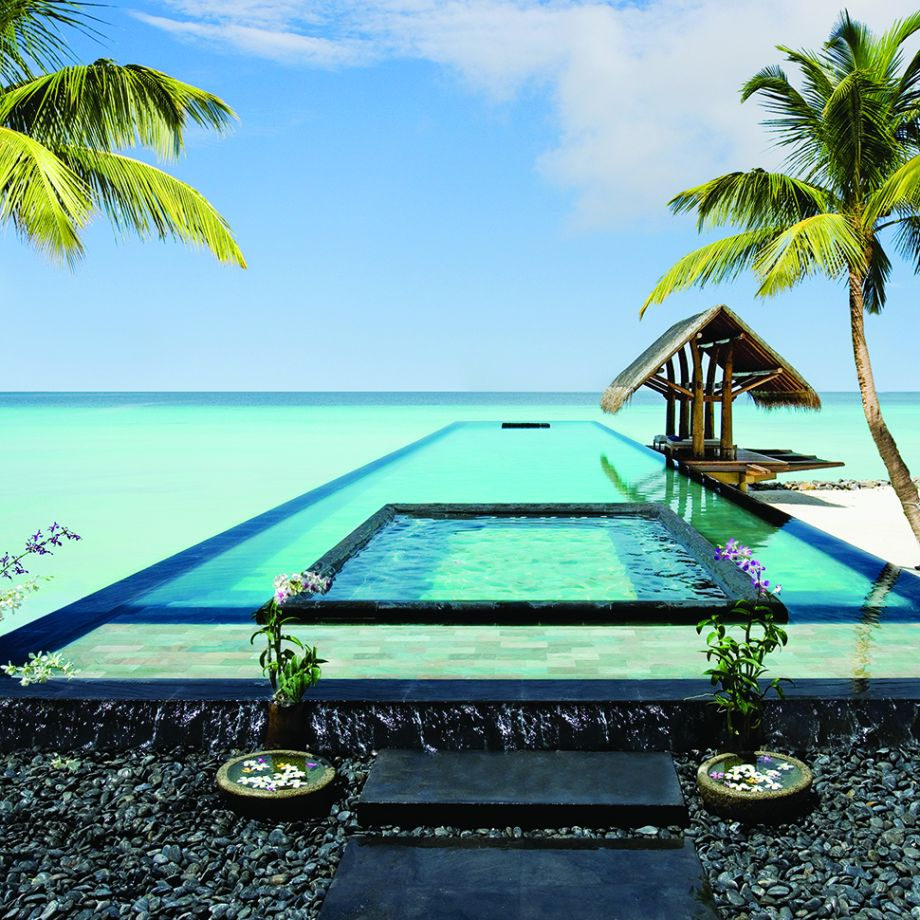 Pool with a view: One&Only Reethi Rah, Maldives