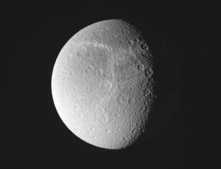 New Images of Saturn's Moon Dione Released