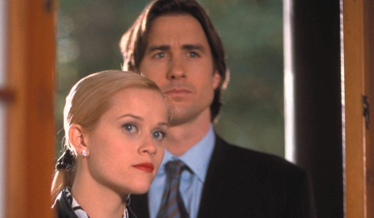 Reese Witherspoon and Luke Wilson in Legally Blonde