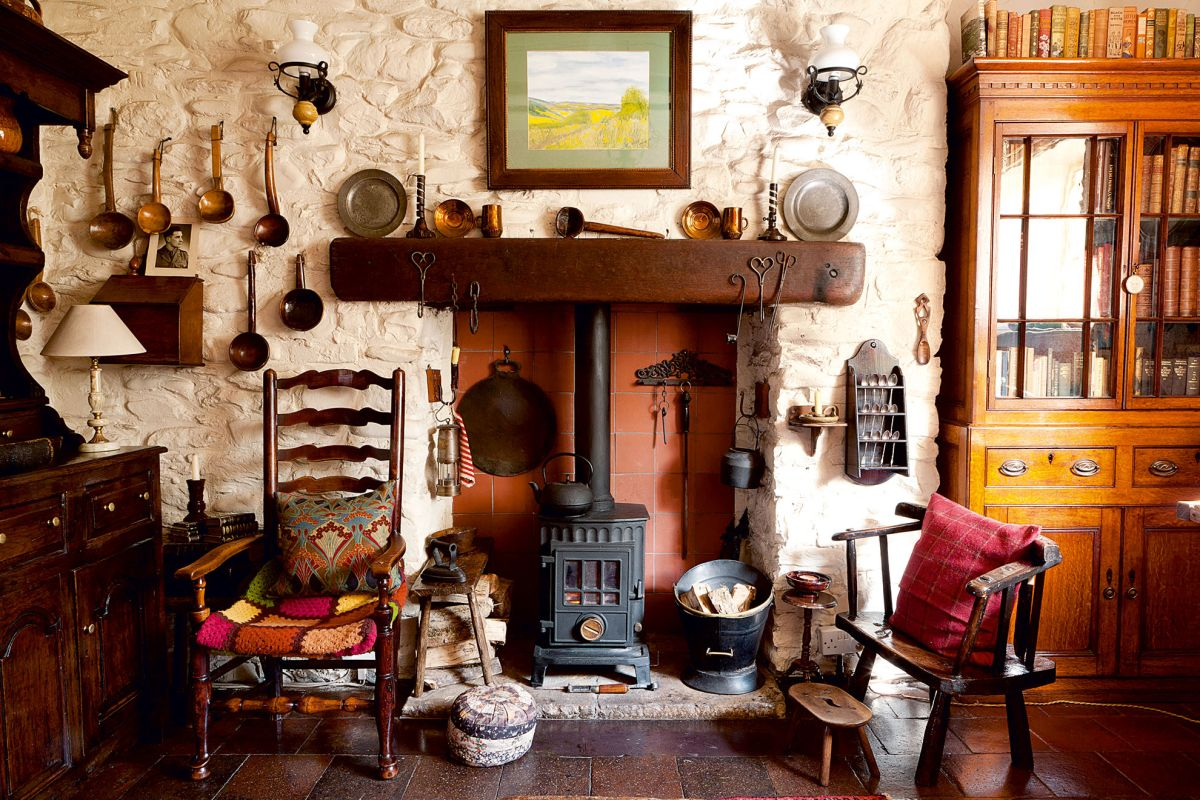 Real Home A Traditional Welsh Cottage Gets A Vintage