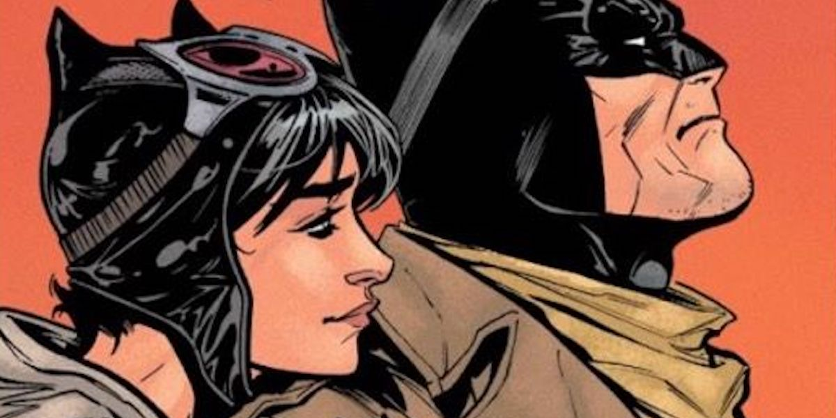 Selina Kyle / Catwoman and Batman in the comics