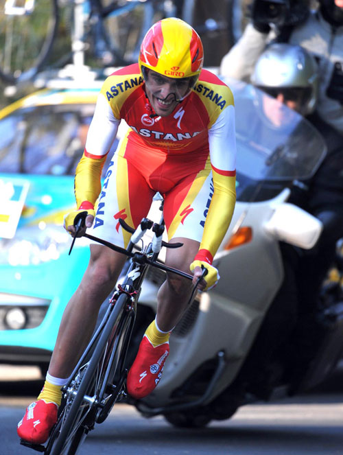 Alberto Contador, Paris-Nice 2010, Stage one prologue