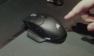 9281ecb769a Corsair's Concept Zeus mouse solves a big wireless gaming mouse problem by  offering cord-free charging.