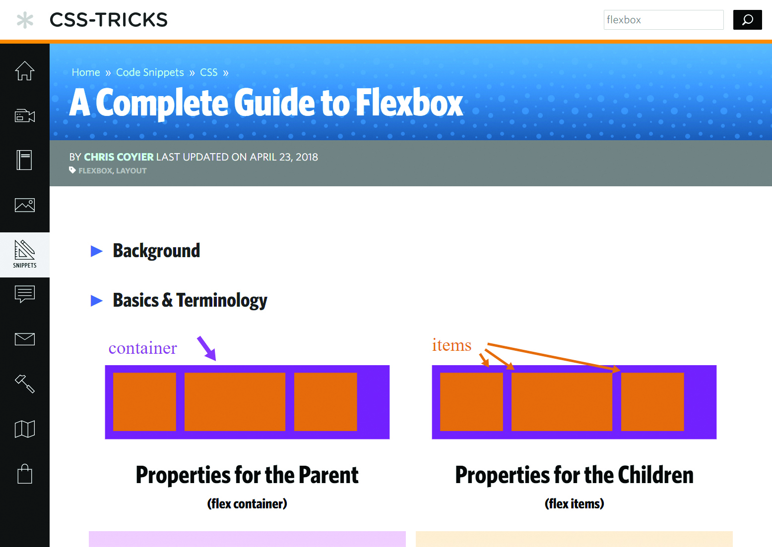 complete guide to flexbox