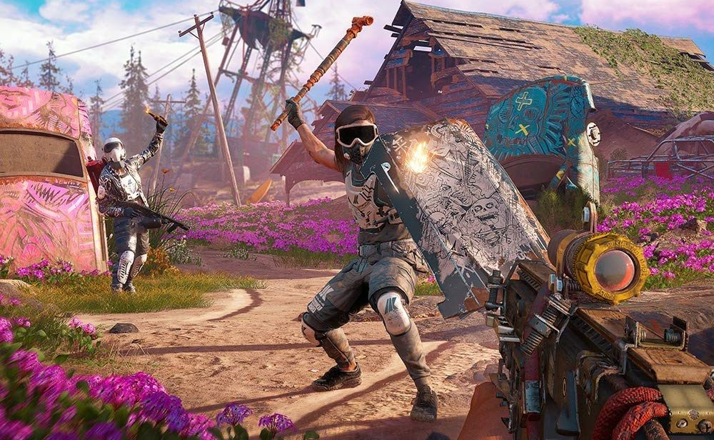 Far Cry: New Dawn is set in a colorful apocalypse, and it's coming soon