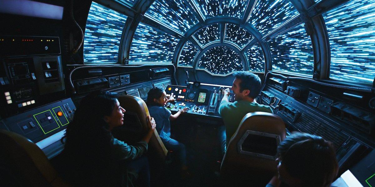 Smuggler's Run Star Wars: Galaxy's Edge