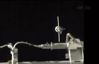 Progress 50 Supply Ship Nears the ISS