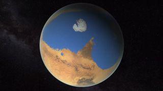 Mars' Ancient Ocean