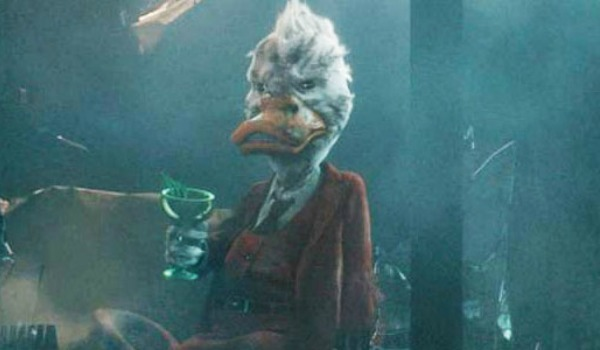 Howard The Duck in Guardians