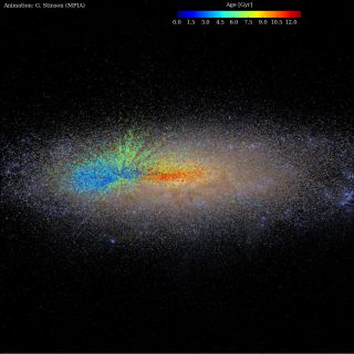 Artist's Rendition of the Milky Way