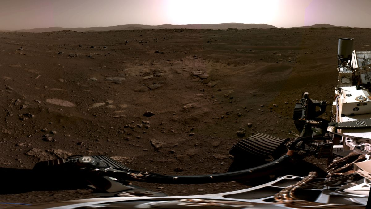 Behold! The 1st panorama of Mars from the Perseverance rover
