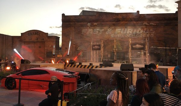 Fast and Furious Supercharged ride