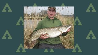 Catching big pike on rivers