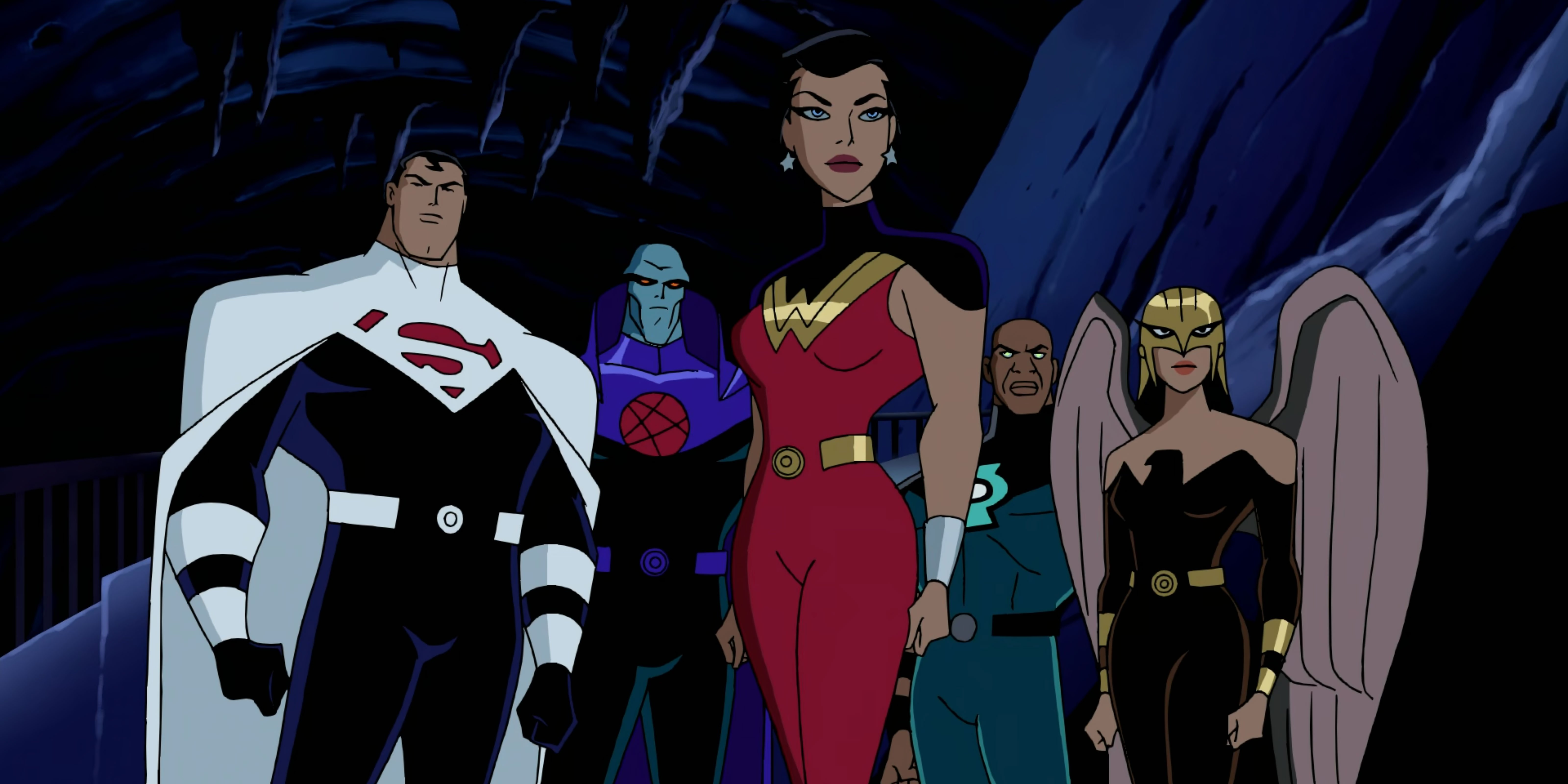 The Justice Lords, evil versions of The Justice League