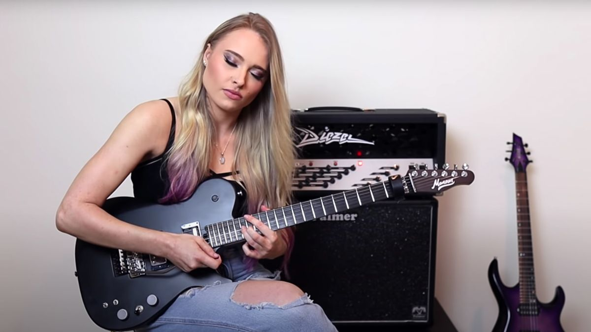 Sophie Lloyd received a guitar from Matt Bellamy – so she used it to record a shred cover of Plug In Baby
