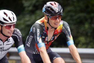 Jack Haig (Bahrain Victorious) at the Vuelta a Espana