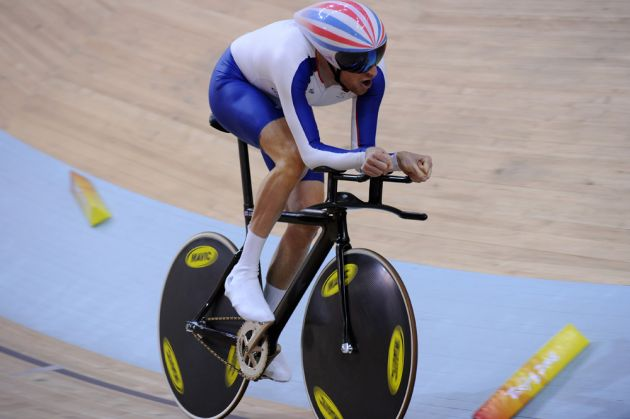 Bradley Wiggins individual pursuit Olympic record 2008