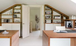 Built in furniture from Neville Johnson in converted loft
