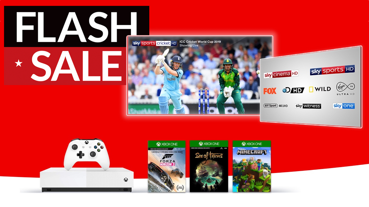 Get a FREE Xbox One S and 3 games with these awesome TV and