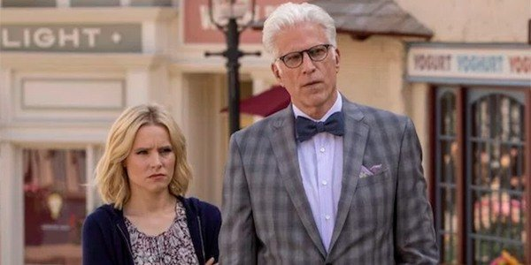 Eleanor And Michael Kristen Bell Ted Danson The Good Place NBC