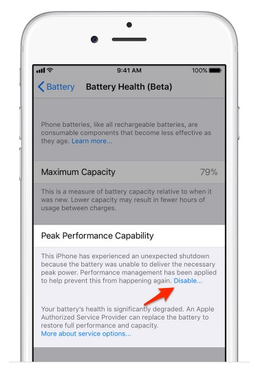 How to Turn Off iPhone Throttling in iOS 11 3 | Tom's Guide