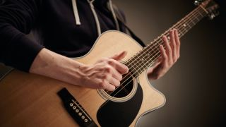 how to play percussive acoustic guitar musicradar