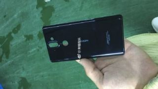 This could be our first look at part of the Nokia 9 in the flesh. Or it could be the Nokia 8 Sirocco. Credit: Baidu