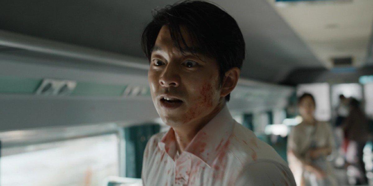 Gong Yoo in Train to Busan
