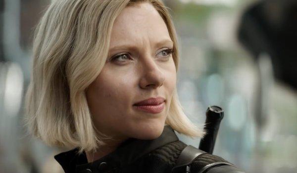 Black Widow Blonde Infinity War