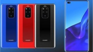 Leaked renders of the Huawei Mate 30 Pro show up online