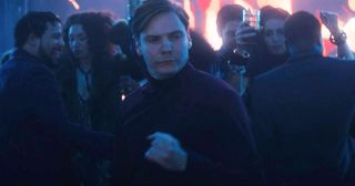 Daniel Brühl as Baron Zemo in The Falcon and the Winter Soldier
