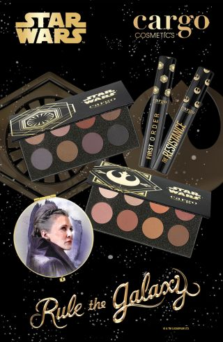 Cargo Cosmetics star wars makeup