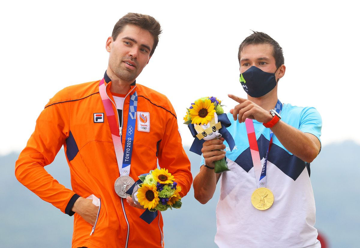 'It was a difficult road to get here': Tom Dumoulin marks return to cycling with Olympics silver