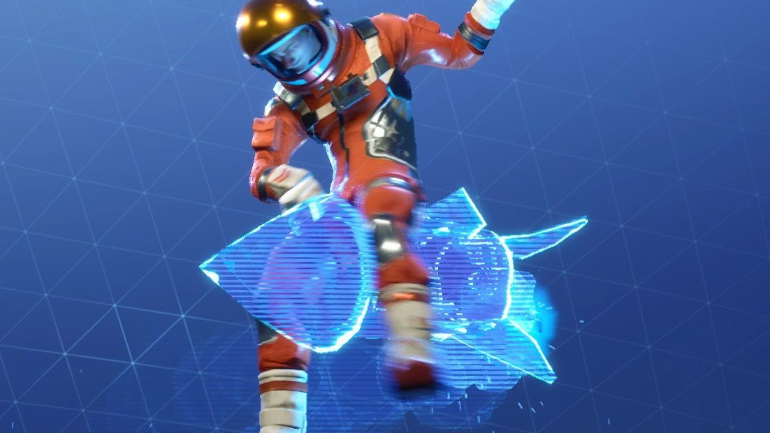 Watch this Fortnite player snipe for a win while riding a rocket on top of another rocket