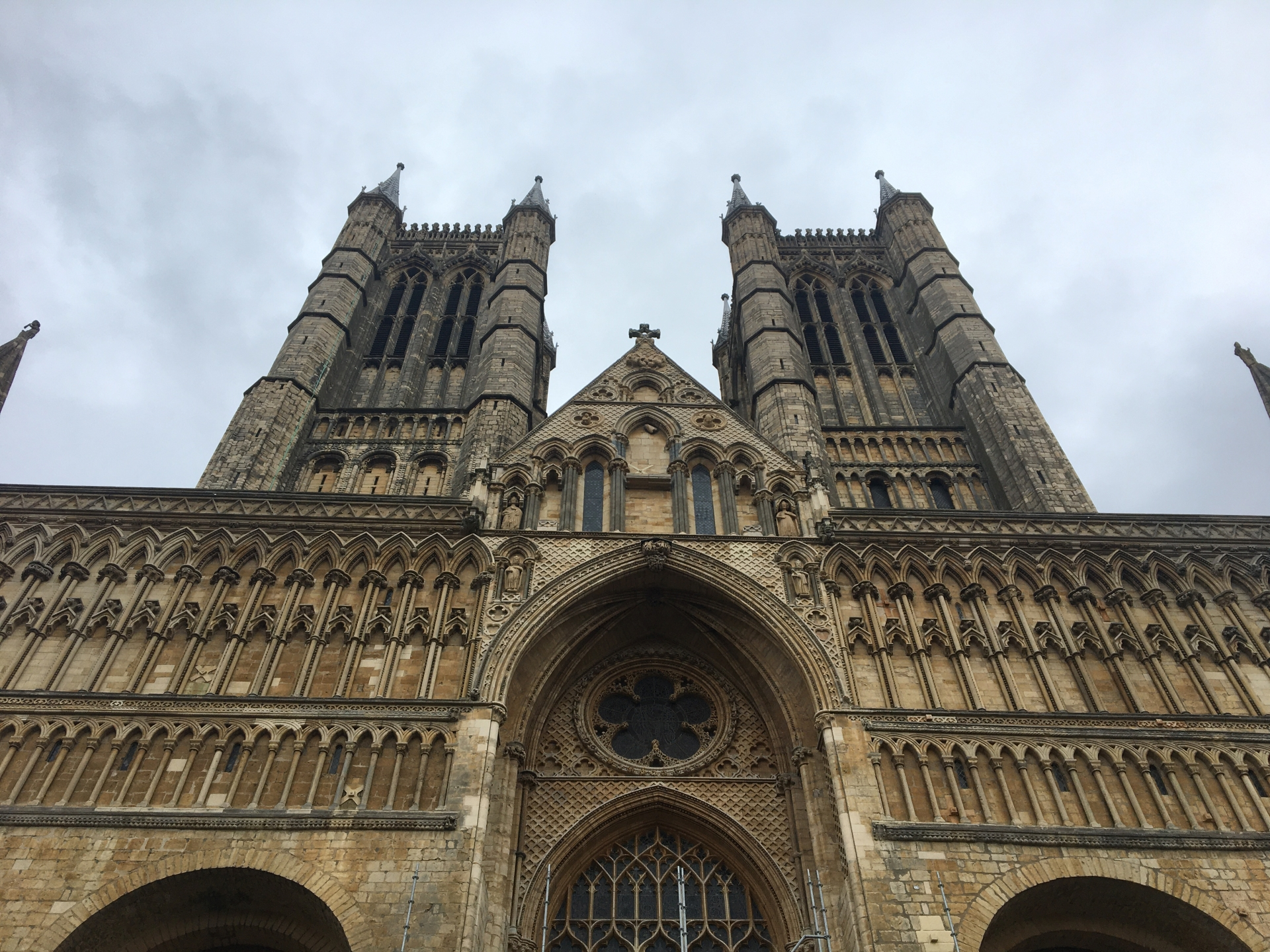 Lincoln Cathedral taken on an iPhone 6S