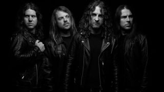 A press shot of Airbourne taken in 2016