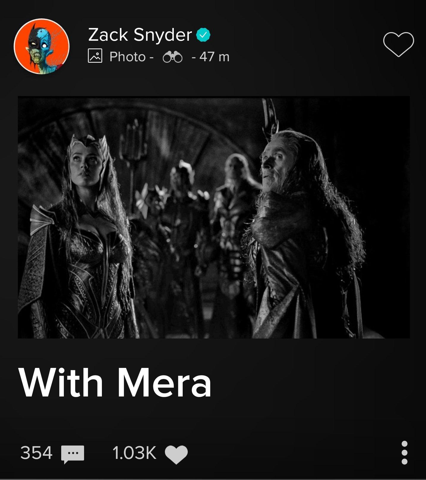 Willem Dafoe as Vulko and Amber Heard as Mera in Justice League