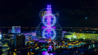 The $1.5 billion upgrade to the Seminole Hard Rock Hotel and Casino in Hollywood, Florida, offers the public a highly unique immersive experience that carries the music theme to the outside of the property.