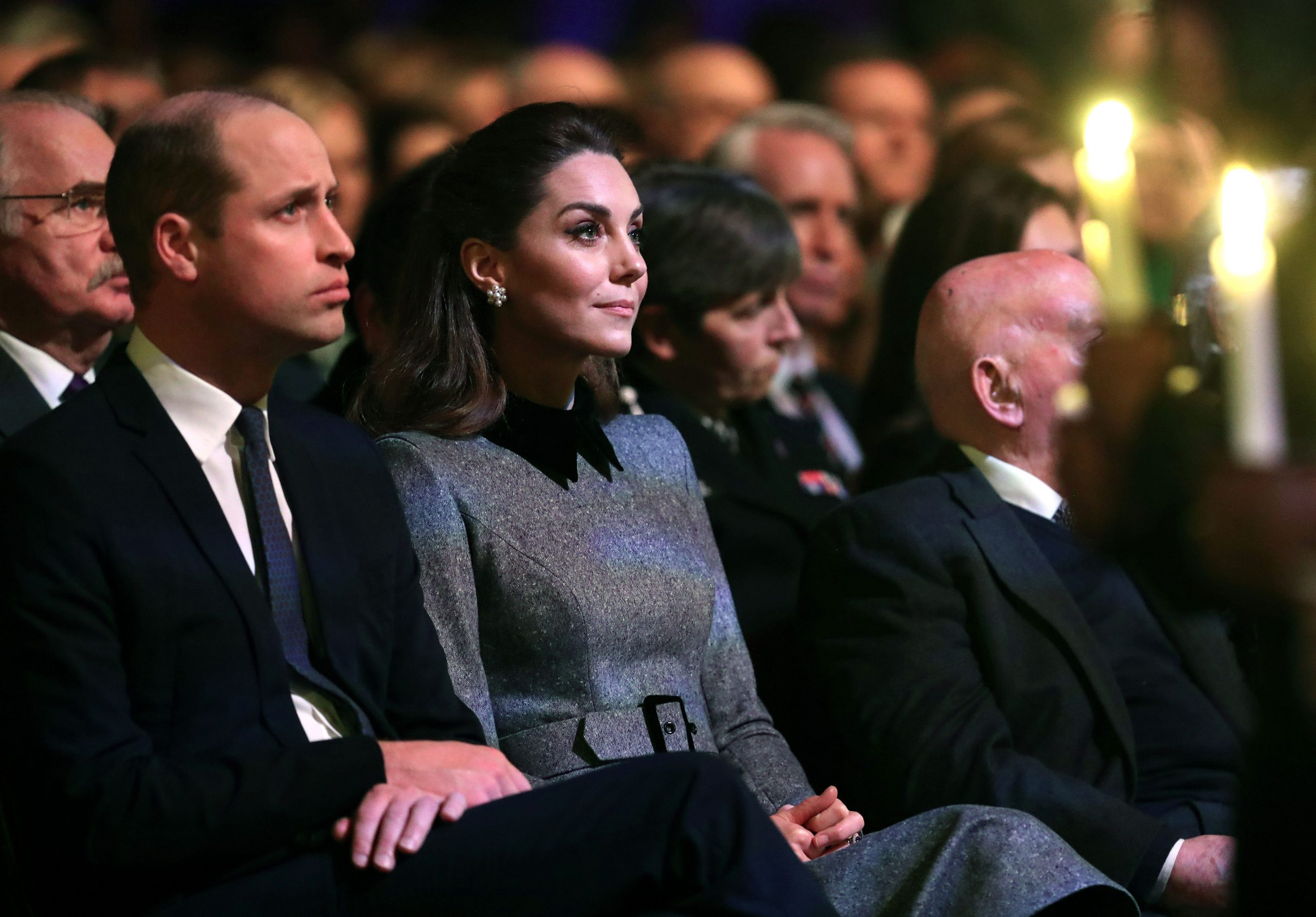 Prince William pays moving tribute to great-grandmother Princess Alice at royal event as Duchess of Cambridge holds back tears