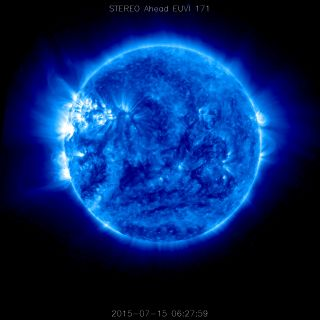 Ultraviolet view of sun