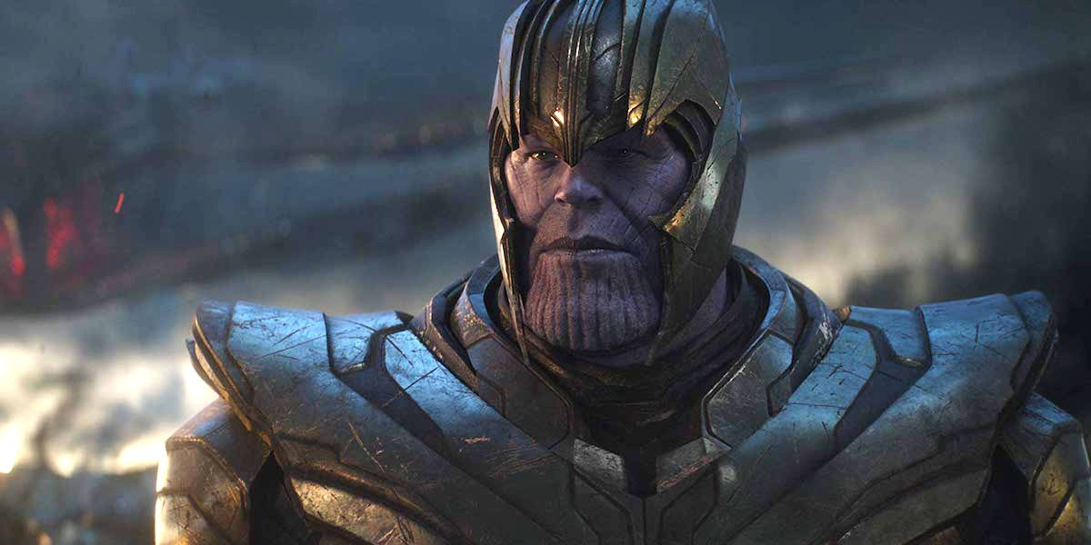 Josh Brolin as Thanos in Avengers: Endgame, final battle sequence