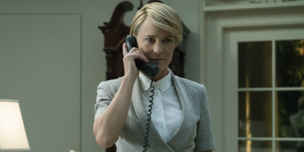 House of Cards Robin Wright Claire Underwood Netflix