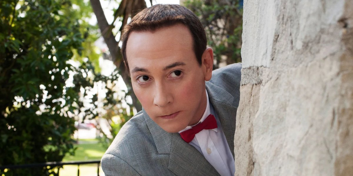 Paul Reubens as Pee-wee Herman in Pee-wee's Big Holiday