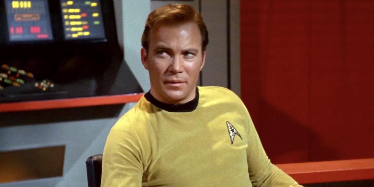 captain kirk william shatner star trek the original series