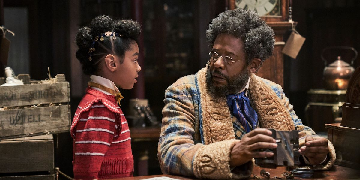 Forest Whitaker and Madalen Mills in Netflix's Jingle Jangle