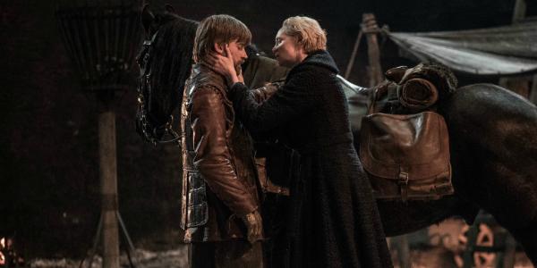 Game of Thrones Jaime Lannister Nikolaj Coster-Waldau Brienne of Tarth Gwendoline Christie HBO