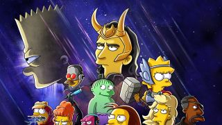 The Good, The Bart, and The Loki Simpsons short