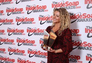 Louisa Clein at the Inside Soap Awards